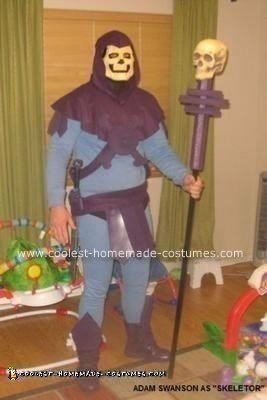 Homemade Skeletor Costume