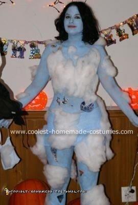 Homemade Blue Skies Costume
