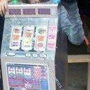 Homemade Slot Machine Costume