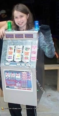 Homemade Slot Machine Costume
