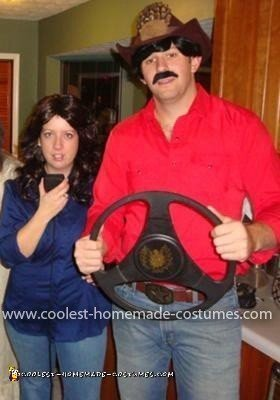 Homemade Smokey and the Bandit Couple Costume