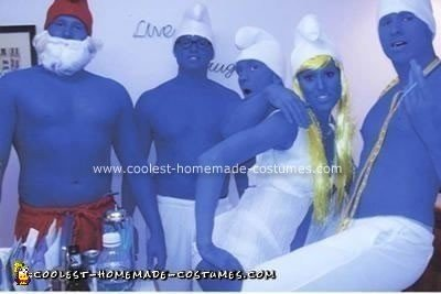 Smurfs Group Costume