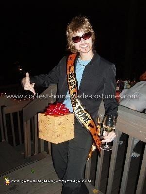 Homemade SNL Dick in the Box Costume