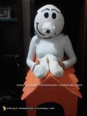 Snoopy Homemade Costume