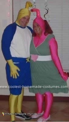 Homemade Snork Couple Costume