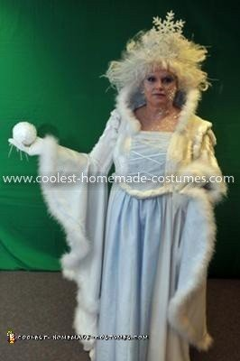 Coolest Snow Queen Costume 12