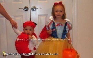 Homemade Snow White and the Poison Apple Costumes