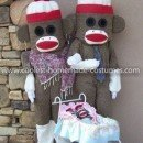 Homemade Sock Monkey Family Costume