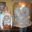 Homemade South Dakota Snow Globe Costume