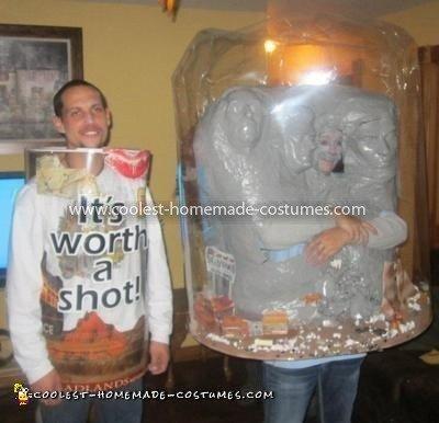 Coolest South Dakota Snow Globe Costume