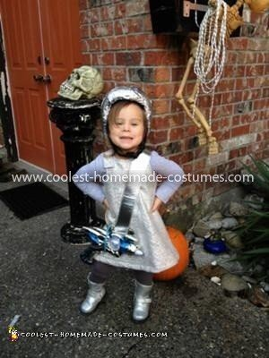 Coolest Space Girl Costume 14