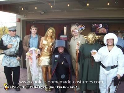 Homemade Spaceballs Group Costume