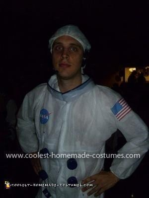 Homemade Spaceman Costume