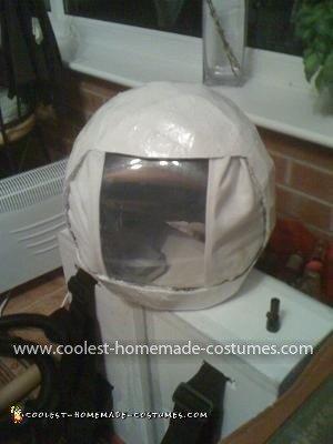 Homemade Spaceman Costume