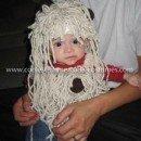 Homemade Spaghetti and Meatballs Baby Costume