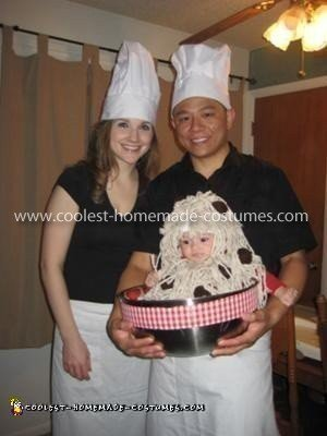 Homemade Spaghetti and Meatballs Baby Costume - Baby Costume Ideas