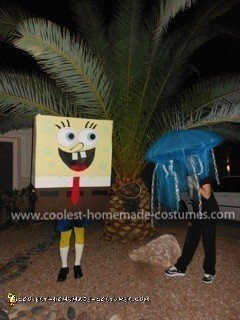 Coolest Sponge Bob and Jellyfish Couple Costume 11