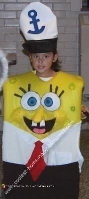 Olivia's Sponge Bob Costume