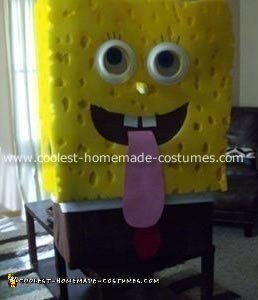 Sponge Bob Square Pants Costume