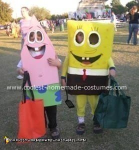 SpongeBob and Patrick Costume