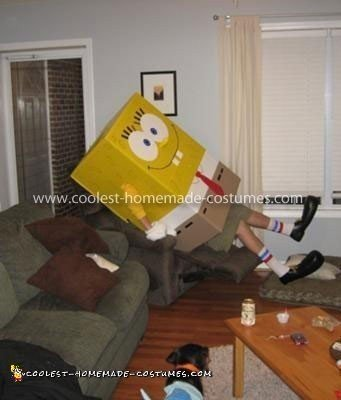 Coolest Spongebob Homemade Costume