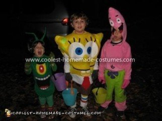Coolest Spongebob, Patrick and Plankton Costumes 12