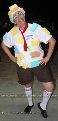 Homemade Spongebob Squarepants Costume
