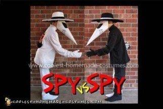 Homemade Spy vs. Spy Costume