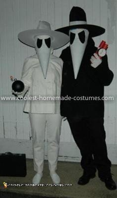 Homemade Spy vs. Spy Costume