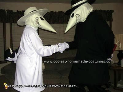 Homemade Spy vs. Spy Halloween Costume
