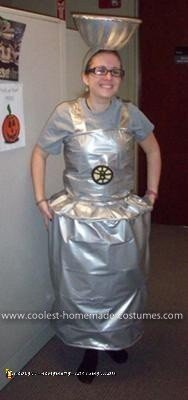 Homemade Stanley Cup Costume