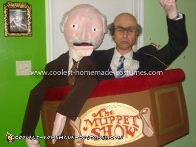 Homemade Statler and Waldorf Costume