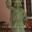 Homemade Statue of Liberty Costume