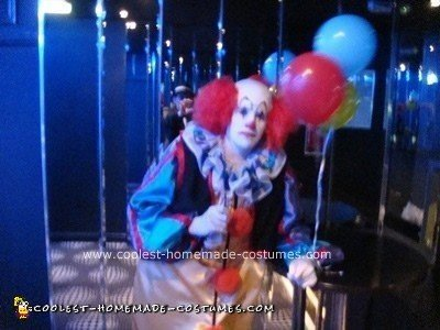 Homemade  Stephen King's IT - Pennywise the Clown Costume