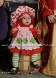 Homemade Strawberry Shortcake Costume