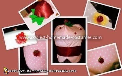 Coolest Strawberry Shortcake Costume - Strawberry Hat