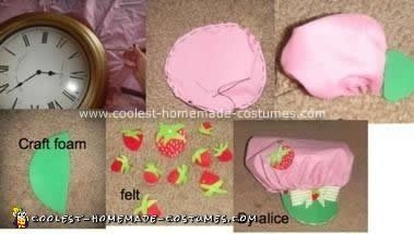 Coolest Strawberry Shortcake Vintage Homemade Costume