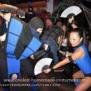 Coolest Sub Zero and Kitana Couple Costume 22