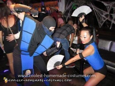 Coolest Sub Zero and Kitana Couple Costume 22