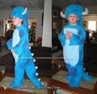Homemade Sully from Monsters, Inc. Costume