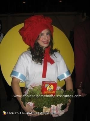 Sunmaid Raisin Girl Costume