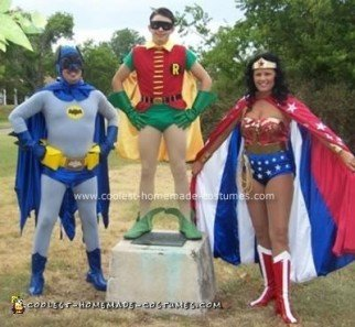 Super Heroes Group Costume
