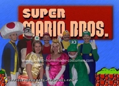 Super Mario Bros Halloween Costume