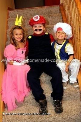 Super Mario Child Costumes