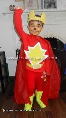 Homemade Super Ted Costume
