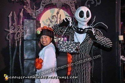 Angel's Tobiko Roll Costume (with Jack Skellington)