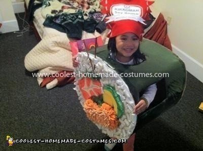 Coolest Sushi Roll Costume 16
