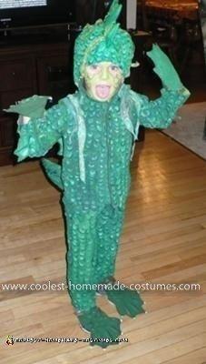 Homemade Swamp Monster Costume