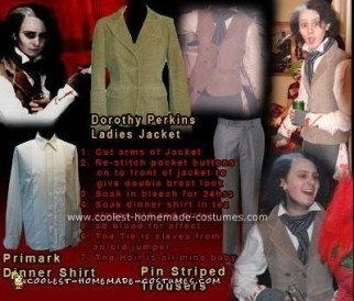 Homemade  Sweeney Todd Costume