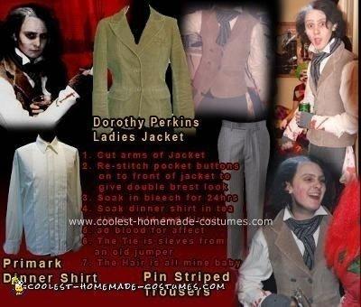 Homemade  Sweeney Todd Costume